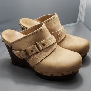 UGG wedge clog Sandal